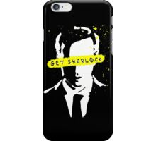 Moriarty Get Sherlock  iPhone Case/Skin