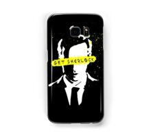 Moriarty Get Sherlock  Samsung Galaxy Case/Skin