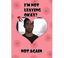 Happy Wolflantine [Derek Hale] Photographic Print