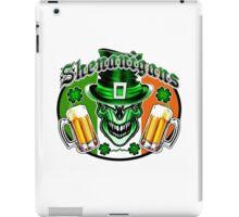 Leprechaun Skull 3 iPad Case/Skin