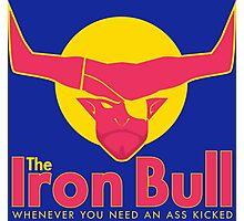 Iron Bull Energy Photographic Print