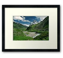 Early summer in Ochsental, Austria Framed Print