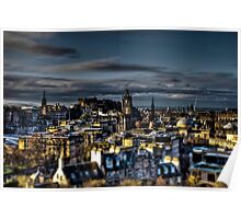 Edinburgh Tiltshift Poster
