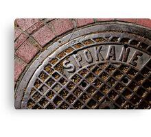 Spokane Canvas Print