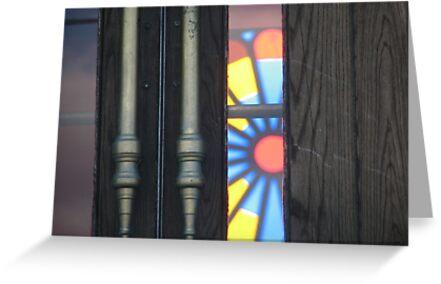 Church door by gypsykatz