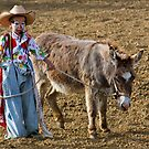 Young Rodeo Clown by David Chappell