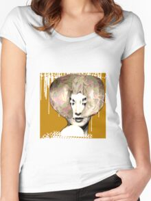 Mme. Women's Fitted Scoop T-Shirt