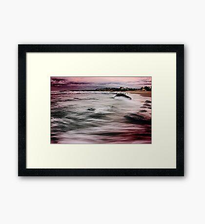 Bar Beach NSW Framed Print