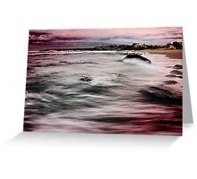 Bar Beach NSW Greeting Card