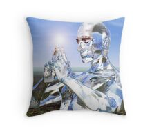 Looking Through to Your Soul Throw Pillow
