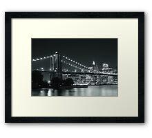 Down Town - New York City Framed Print