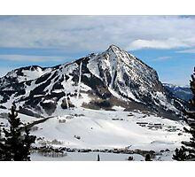 Mt. Crested Butte Photographic Print