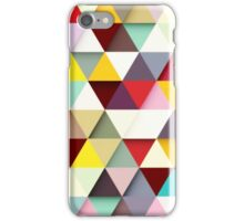 Upstate Supply Co- Multicolored Triangles w/o logo iPhone Case/Skin