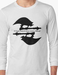 Scythe (x2) - Buffy - Julienne Preacher Black Long Sleeve T-Shirt