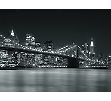 Silver Nights - New York Photographic Print