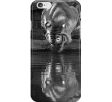 Taking a Drink Black & White iPhone Case/Skin