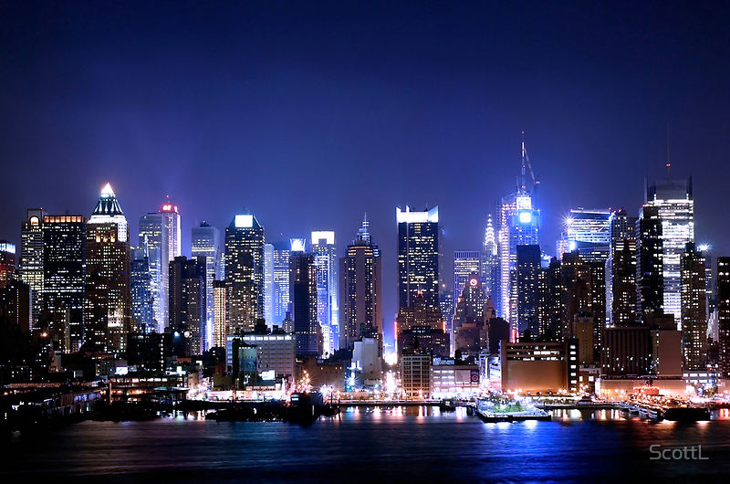 New York Blues  by ScottL