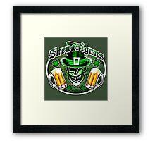 Leprechaun Skull 2: Shenanigans 2 Framed Print