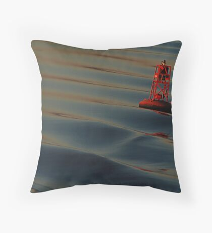 Sunset on the St. Lawrence Throw Pillow
