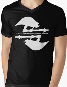 Scythe (x2) - Buffy - Julienne Preacher White Mens V-Neck T-Shirt