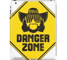 "Macho Man Randy Savage ""Danger Zone"" iPad Case/Skin"
