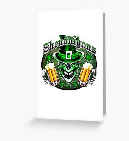 Leprechaun Skull 3: Shenanigans 2 Greeting Card