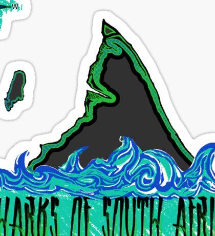 The Coast of Sharks Sticker