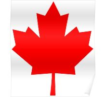 Canadian Maple Leaf Poster