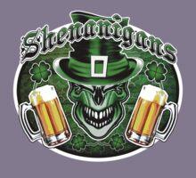 Leprechaun Skull 3: Shenanigans 2 Kids Tee