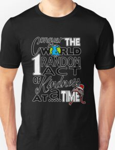 Acts of Kindness (white outline) Unisex T-Shirt