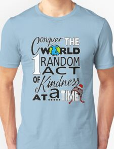 Acts of Kindness (white outline) T-Shirt
