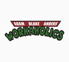 Workaholics - Teenage Mutant Ninja Turtles Logo Kids Clothes