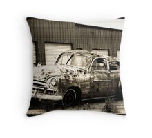 Rustic Adventure Throw Pillow