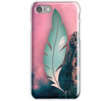 The weight of the mountain iPhone Case/Skin