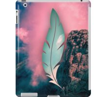 The weight of the mountain iPad Case/Skin