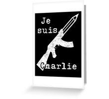 Je suis Charlie #2 Greeting Card