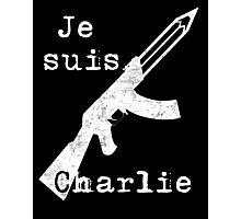 Je suis Charlie #2 Photographic Print