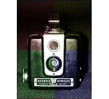 Colorful Brownie Hawkeye Photographic Print