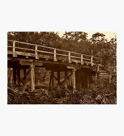 """Spanning Time and Sutherland's Creek"" Photographic Print"