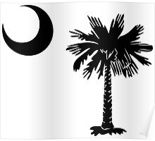 Black Palmetto Moon Poster
