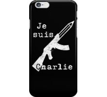 Je suis Charlie #2 iPhone Case/Skin