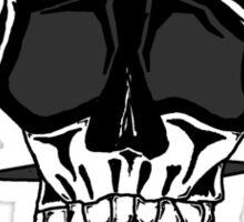 Baseball Skulls inc. Logo Sticker