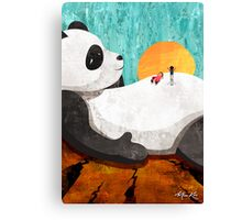 Shock Absorbing Panda Canvas Print