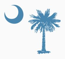 Carolina Blue Palmetto Moon by Carolina Swagger
