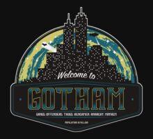 Welcome to Gotham by Art-Broken
