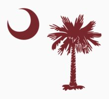 Garnet Palmetto Moon by Carolina Swagger