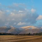 The Ochil Hills Kinross Scotland by M.S. Photography/Art