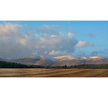 The Ochil Hills Kinross Scotland Photographic Print