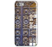 More Wrought Iron Art iPhone Case/Skin