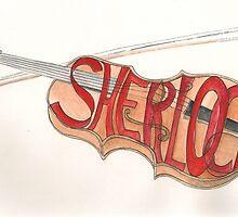 Sherlock Holmes' Violin by Annartist2015
